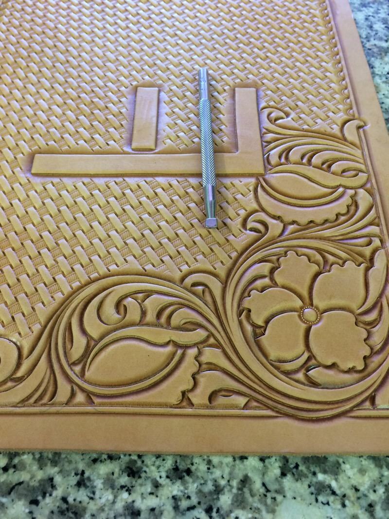 My leather floral tooling process don gonzales saddlery
