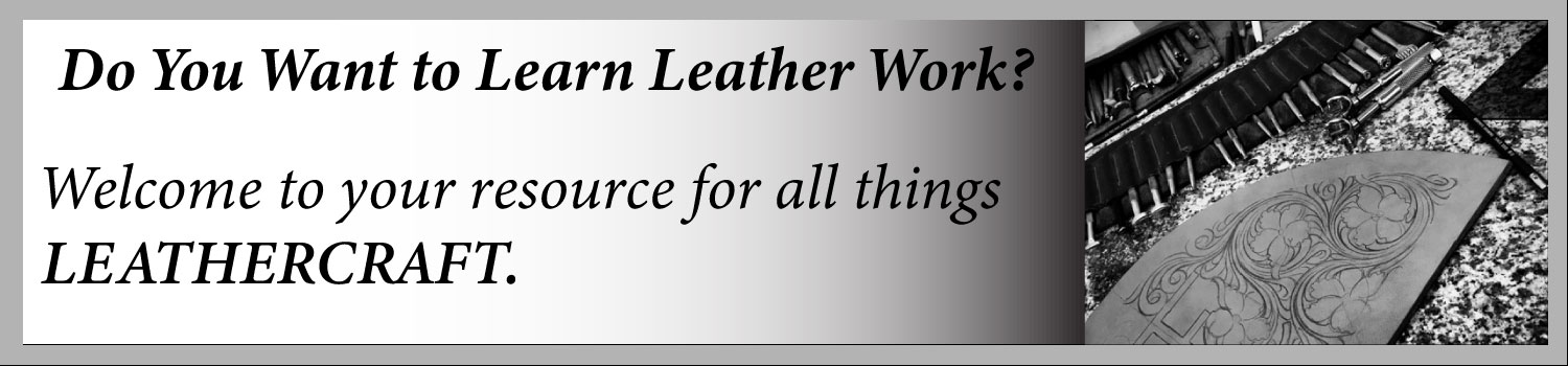 Online resource for all things leather work.