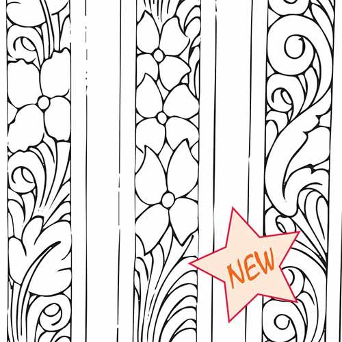 simplistic three belt patterns don gonzales saddlery