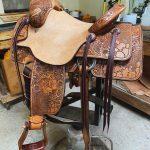 Heather saddle