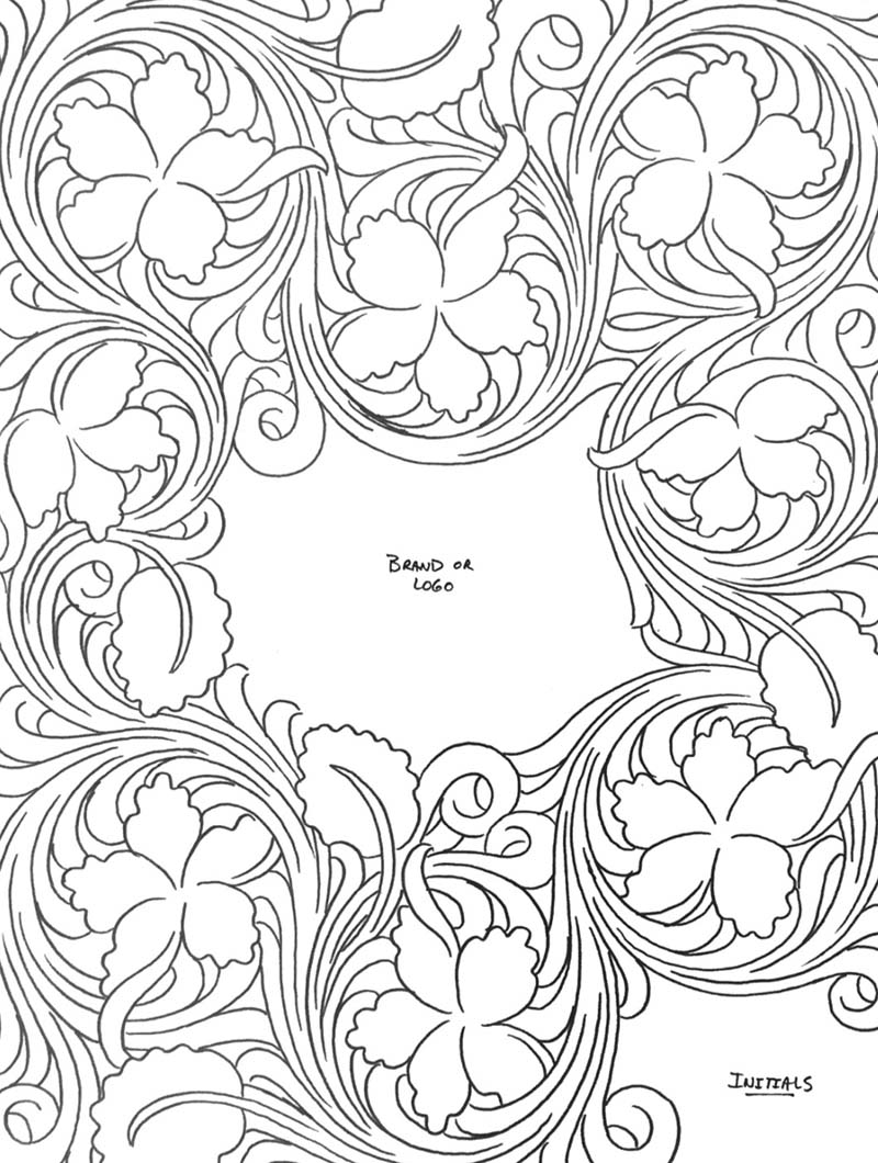 It is a graphic of Gratifying Printable Leather Patterns