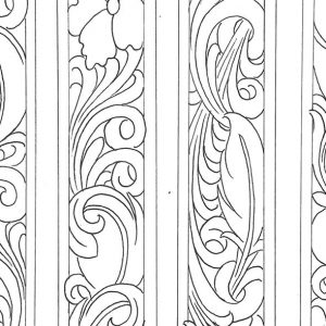 Tooling Patterns Archives Don Gonzales Saddlery