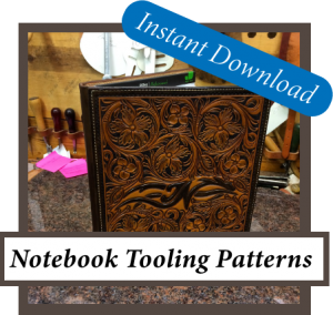 Leather Notebook Tooling Patterns