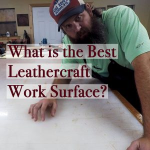 Thumbnail for a a video on the best Leathercraft work surface